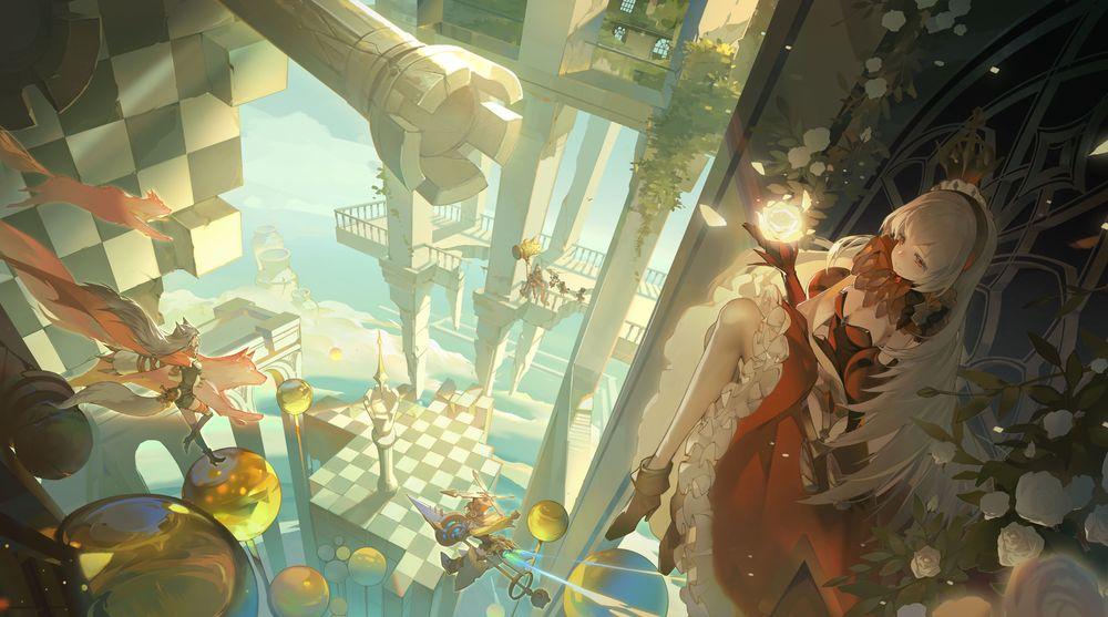 多重世界书籍拟人游戏《幻书启世录》确定在台推出