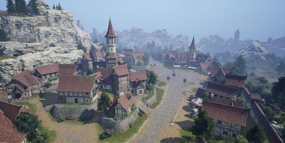 《天堂2M》公开奇岩领地介绍及「战场之影」、「土瑞克兽人野营地」