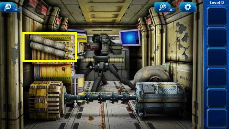 《密室逃脱9:逃出太空船》第十三关通关攻略