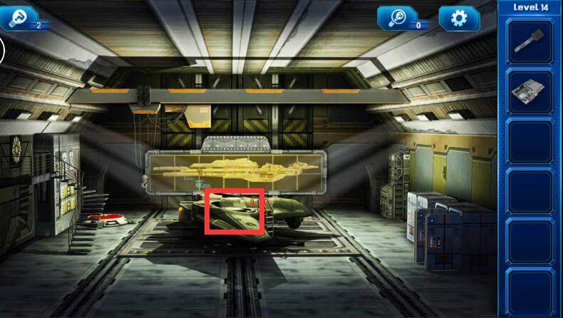 《密室逃脱9:逃出太空船》第十四关通关攻略