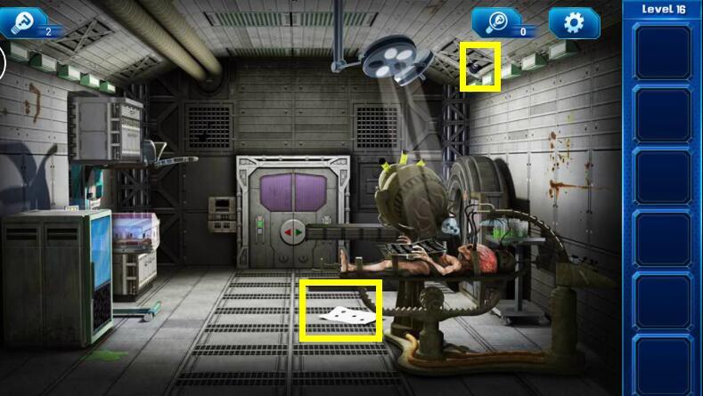 《密室逃脱9:逃出太空船》第十六关通关攻略