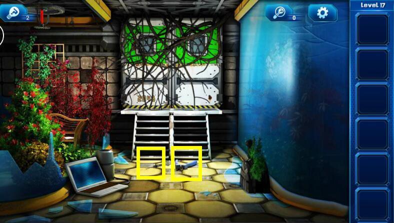 《密室逃脱9:逃出太空船》第十七关通关攻略