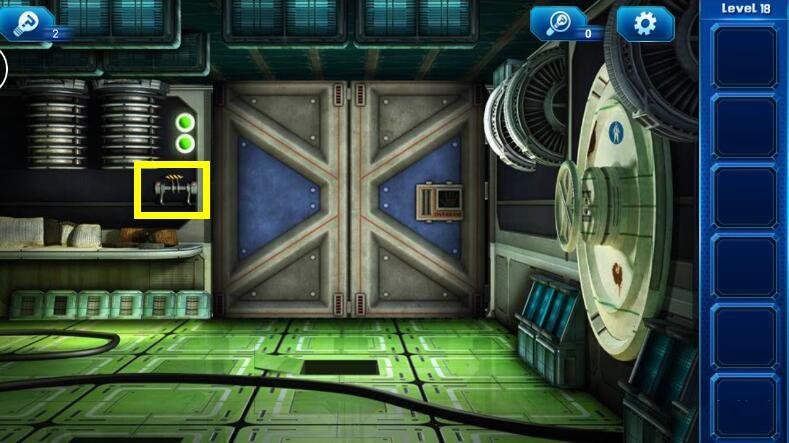 《密室逃脱9:逃出太空船》第十八关通关攻略