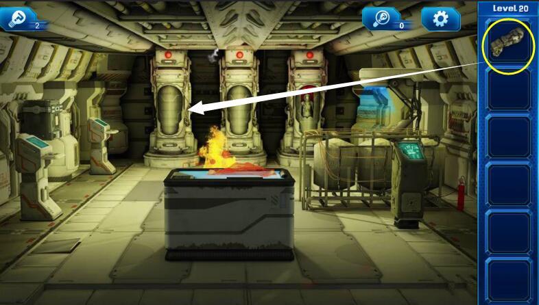 《密室逃脱9:逃出太空船》第二十关通关攻略