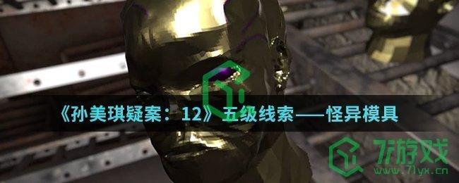 《孙美琪疑案:12》五级线索——怪异模具