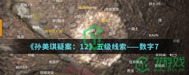 《孙美琪疑案:12》五级线索——数字7