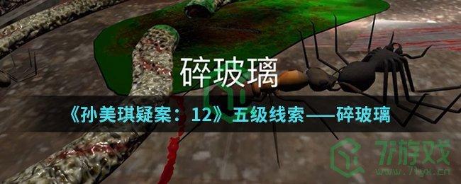 《孙美琪疑案:12》五级线索——碎玻璃