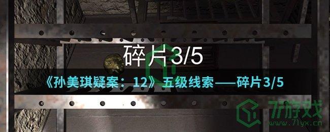 《孙美琪疑案:12》五级线索——碎片3/5
