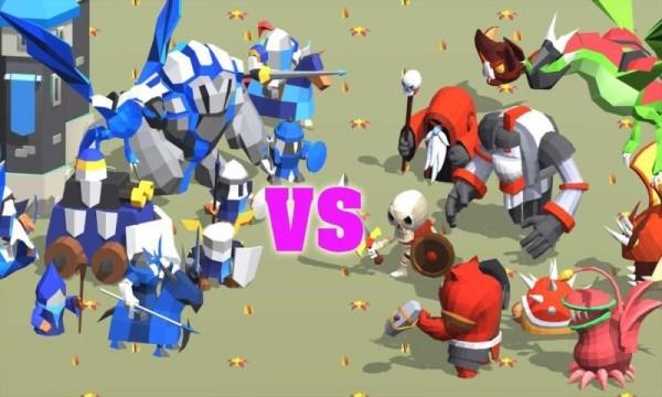 王国战争城堡防御截图